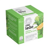 Chá de Capim Cidreira Laranja e Limão Sachê 1,5g CX 15 UN Leão