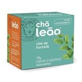 Chá de Hortelã Sachê 1g CX 10 UN Leão