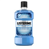 Antisséptico Bucal Tartar Control 500ml 1 UN Listerine