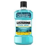 Antisséptico Bucal Cool Mint Leve 500ml Pague 350ml 1 UN Listerine