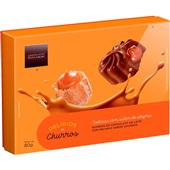 Bombons Delírios de Churros 80g Chocolates Brasil Cacau