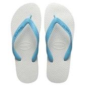 Havaianas Tradicional Azul e Branco Nº 35/6 1 Par