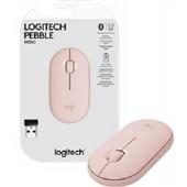 Mouse sem Fio Pebble M350 Rosa 1 UN Logitech