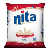 Farinha de Trigo 1kg 1 Pacote Nita