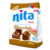 Mistura para Preparo de Bolo Chocolate 450g Nita