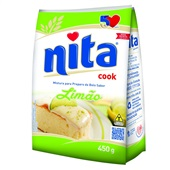 Mistura para Preparo de Bolo Limão 450g Nita