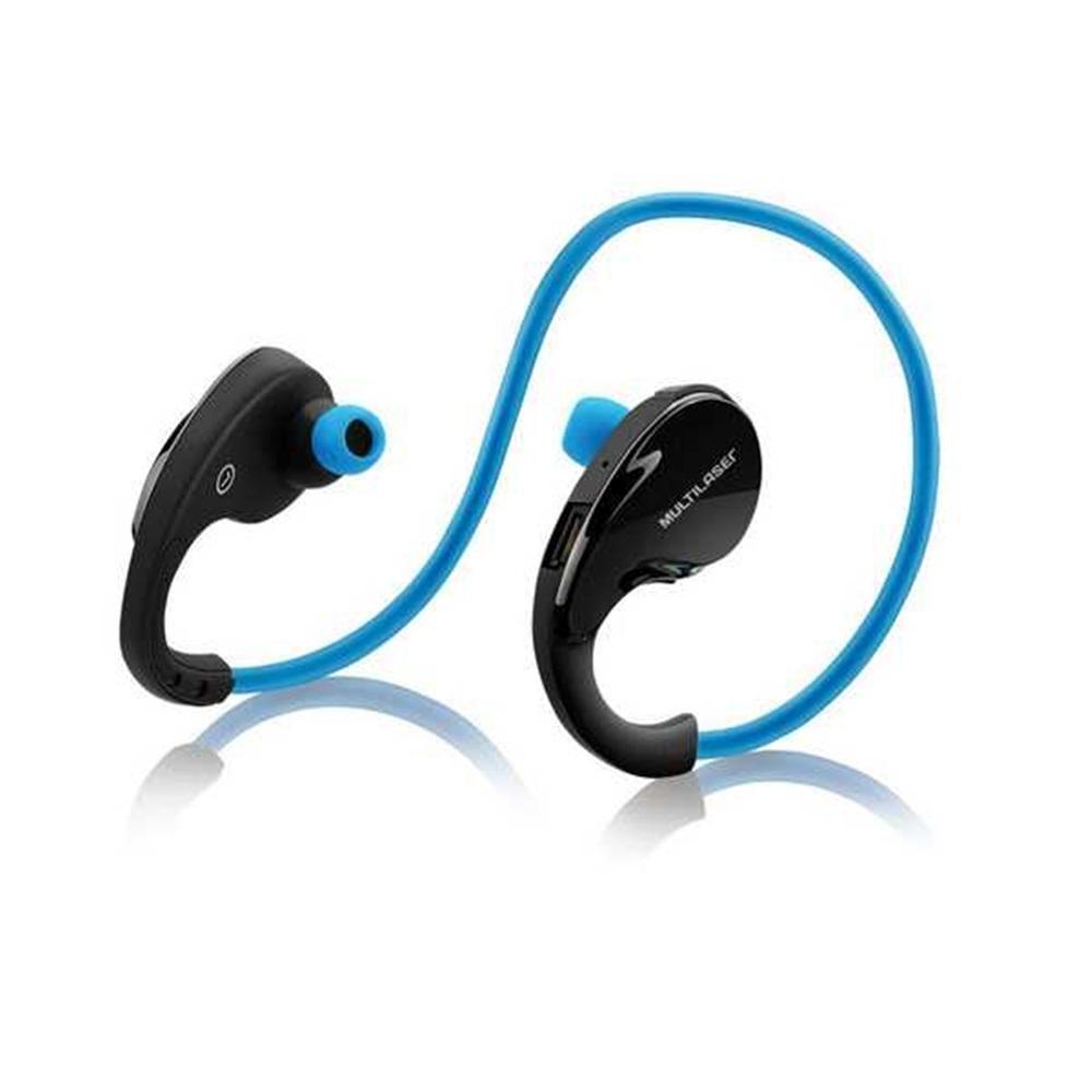 Fone de Ouvido Intra-auricular Bluetooth Arco Sport Azul Multilaser Ph182