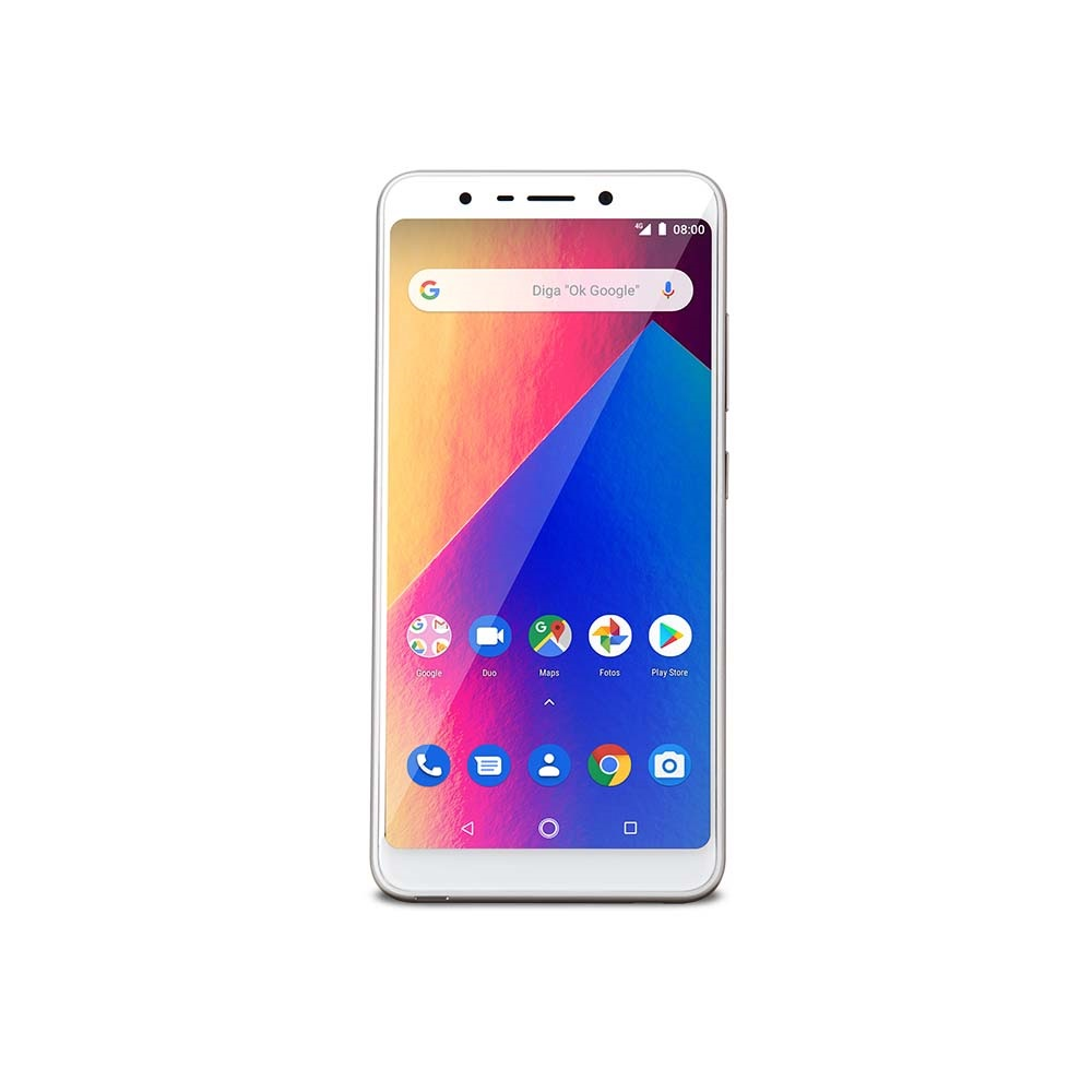 Celular Smartphone Multilaser Ms60x Plus P9084 16gb Dourado - Dual Chip